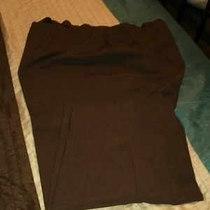 Brown dress pants
